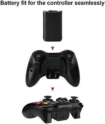 Cargador de Mando Xbox 360 Estación de Carga para Mando Xbox ...
