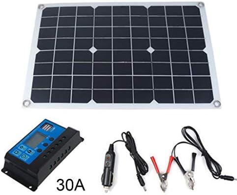 Tools, tragbares 20 W flexibles Solarpanel-Kit für den Außenbereich, Notfall, elektrisch, 18 V, polykristallines Board für Zuhause, Wohnwagen, Boot mit 10/20/30/50 A Controller