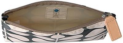 Orla Kiely Women's Charcoal Blue Medium Pouch