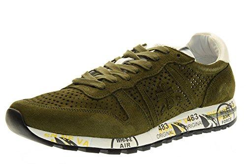 PREMIATA el hombre bajas zapatillas de deporte 2120 ERIC talla 43 Green