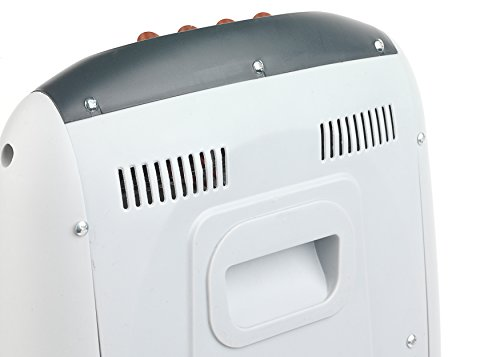-[ Prolectrix EH0197 1200W Halogen Heater with 3 Heat Settings  ]-