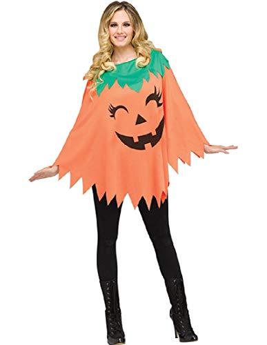 Pumpkin Poncho Costume