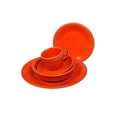 Fiesta 5-Piece Place Setting, Poppy