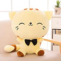 Bobury Cat Plush Emoji Cushion Pillow PP Cotton Filling Home Decor Doll Smiling Face Cartoon Stuffed Toys Gifts 22cm/50cm