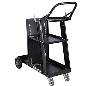 Welder Welding Cart Plasma Cutter MIG TIG ARC Universal Storage for Tanks New TKT-11 by TKT-11