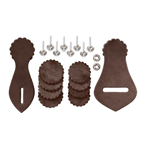 Western Saddle Leather Repair Kit Dark Oil