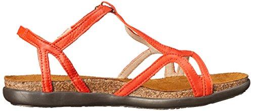 Naot Des Femmes De Dorith Sandale En Cuir Orange Gladiator