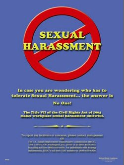 Signs Of Sexual Harassment