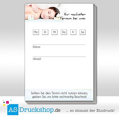 Terminblock Massage - Massiert   DIN A7 A7 A7 Hochformat   50 Stück B07B31HGVC Briefpapier Ausgezeichneter Wert 634ae0