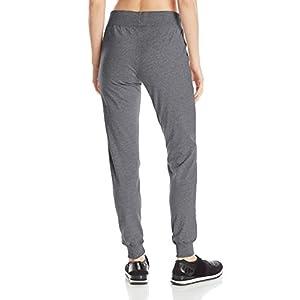 Champion Women's Jersey Pocket Pant, Granite Heather, Small
