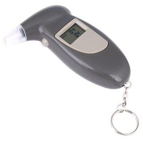 ALCOHOLIMETRO Digital Detector Alcohol Llavero portátil