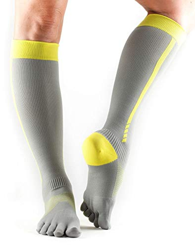 Best Pure Compression Toe Socks - ToeSox Zoe Performance Five Toe Compression