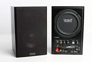 Vanatoo Transparent One Powered Speakers (Black, Set of 2)