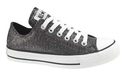 5e97740b9e72 ... promo code for converse chuck taylor all star lo top sparkle black  canvas shoes 517479f womens
