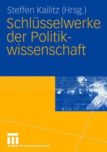 Schlüsselwerke der Politikwissenschaft (German Edition)
