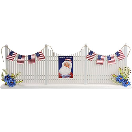 Decorated Picket Fence (Byers Choice 7