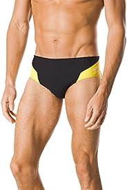 Speedo Mens Swimsuit Brief Endurance+ Splice Team Colors