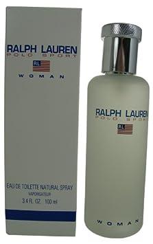 Polo Sport by Ralph Lauren for Women, Eau De Toilette Natural Spray, 3.4 Ounce