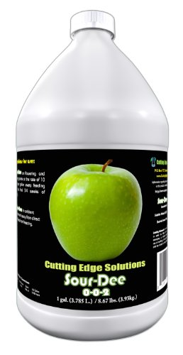 Cutting Edge Solutions Sour-Dee:3302 Sour-DeeGrowing Additive, 1-Gallon