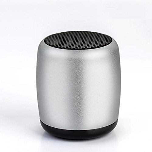 Valiant Remote - Mini Wireless Speaker Hands-free Microphone Multimedia Remote Shutter Compact [Silver] for MetroPCS Huawei Valiant - MetroPCS Huawei Vitria - MetroPCS Kyocera Hydro Life - MetroPCS Kyocera Hydro Wave