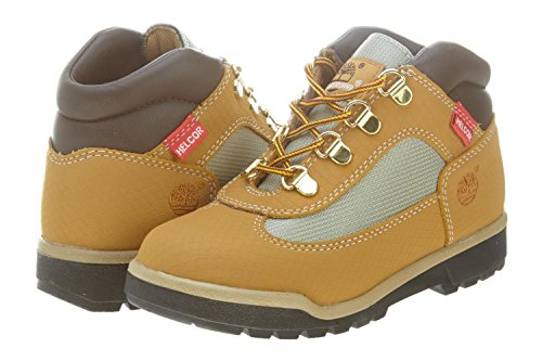 Timberland Field Scuff Helcor Boot (Toddler/Little Kid/Big Kid),Wheat,3 M US Little Kid