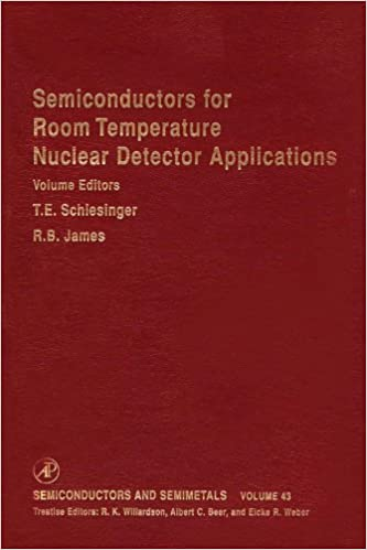 Semiconductors for Room Temperature Nuclear Detector Applications (Semiconductors and Semimetals Book 43) 1st Edition, Kindle Edition