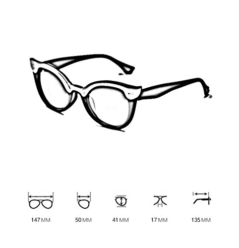 6 100 De Grand Lym Uv Personnalisées Soleil Coréennes amp; couleur Rondes 2 Protection Cadre amp;lunettes Lunettes 7TZqAf