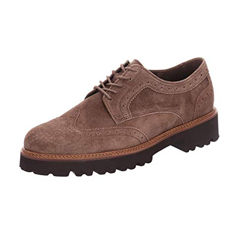 Gabor Lace Up 464 Taupe Sweep Chunky 91 Suede Tq54rTx
