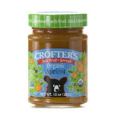 Crofters Food Ltd. Just Frt Sprd, Og, Apricot, 10-Ounce (Pack of 6)