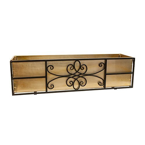 Panacea Quatrefoil Window Box, 36 by Panacea by Panacea