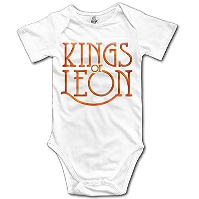 Custom Kings-of-leon-logo Baby Girl And Boy Climbing Cartoon Short Sleeve T Shirt [ -