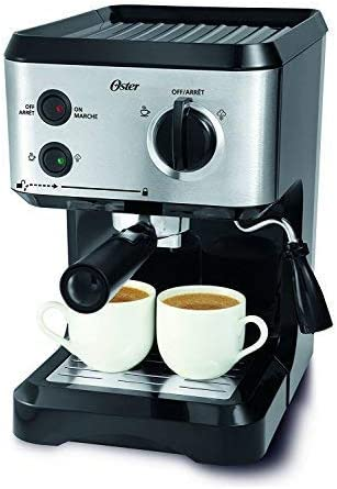 Oster BVSTECMP55 Espresso and Cappuccino Maker 220-volts (Will not work in USA)