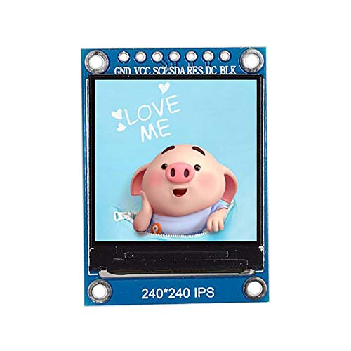 TOOGOO 1.3 Inch IPS Hd Tft St7789 Drive Ic 240 x 240 SPI Communication 3.3V Voltage SPI Interface Full Color Tft LCD Display