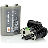 DSTE Replacement EN-EL18 EN-EL18a Battery + BL-5 Battery Chamber Cover For Nikon D800 D800E D810 D850 Camera MB-D12 MB-D18 Battery Grip