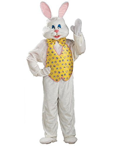 (Rubie's Deluxe Bunny Suit With Hood, Multi, X-Large)