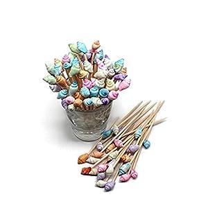41bwdFJIjHL._SS300_ Top Rated Sets of Seashell Toothpicks