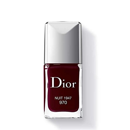 Christian Dior Vernis Nail Lacquer for Women, 970/Nuit 1947, 0.33 Ounce (Enamel Dior Vernis Nail)