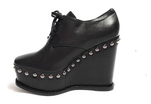 Women's Black Schutz Up Flats Lace Black 801wdS