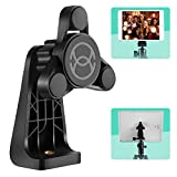 ORASANT Phone Tripod Mount, Strong Magnetic Tripod Adapter with No Limit On Phone Size, Anti-Wobble&360° Rotation, Tripod Phone Mount Compatible with iPhone, iPad, All Cellphone, Smartphone, Tablet PC