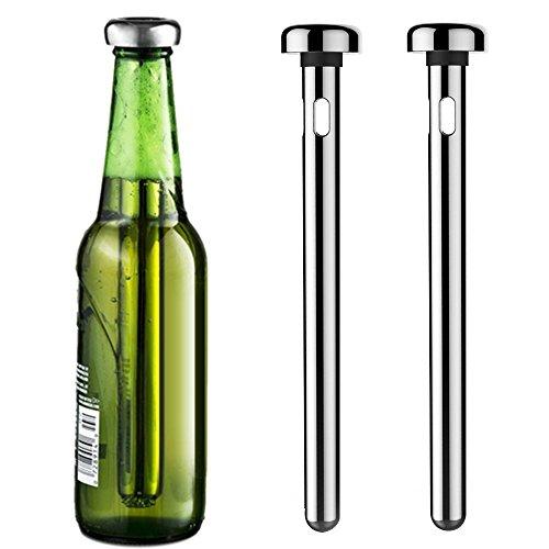 - MIUVA Beer Chiller,Stainless Steel Tumbler Cooling Sticks Beverage Cooler -Set of 2