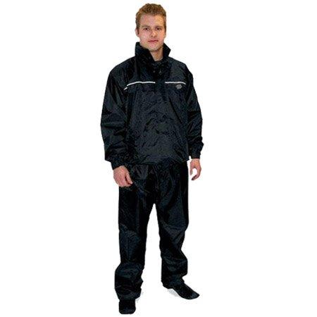 Dowco Guardian Deluxe Rainsuit - 2X-Large/Black