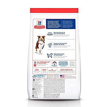 Hill s Science Diet Dry Dog Food, Adult 7 for Senior Dogs, Chicken Meal, Barley Brown Rice Recipe