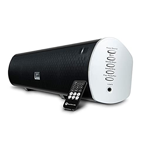 GOgroove Bluetooth Sound Bar Wireless 2.1 Speaker Built-in Subwoofer , AUX / RCA / Optical Input , & Mounting Hardware - For Samsung , Sony , Sharp , Toshiba , Vizio , & Many More (Subwoofer And Center Speaker)