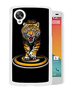 NCAA Grambling State Tigers 02 White Customize Google Nexus 5 Phone Cover Case