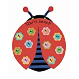 Ladybug Party Invitations, 8ct