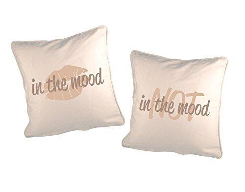 GD-designs Cojín decorativo (Juego 2 fundas de almohada in ...
