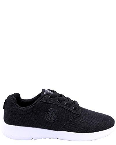Rocawear Womens Mesh Sneakers,R-5008 Black/White
