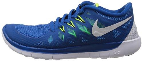 Free gs 5 0 Garçon Nike De Chaussures Bleu Running BRqHnO