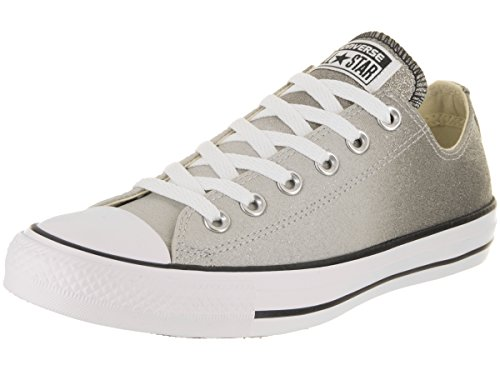 Converse Unisex Chuck Taylor All Star Ox Ash Grey/Black/White Casual Shoe 6 Men US/8 Women US by Converse