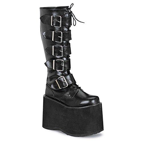 Demonia mega-618 - gothique plateau bottes chaussures unisex 36-45, US-Herren:EU-45 (US-M12)